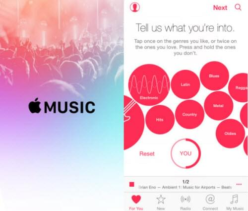 reproductor de Apple Music